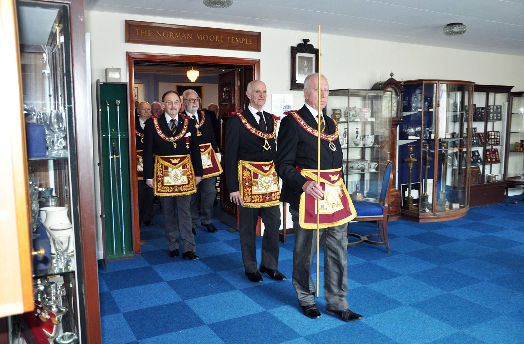 Consecration of the Court of Sion Abbey No 126