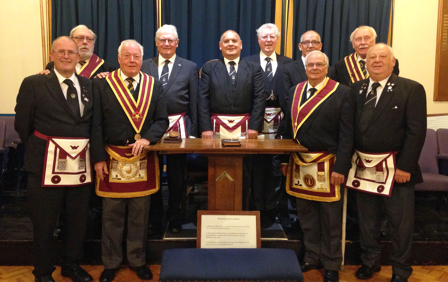 Court of Aelle No 25 - Installation Meeting & Annual Visit by the Provincial Grand Master