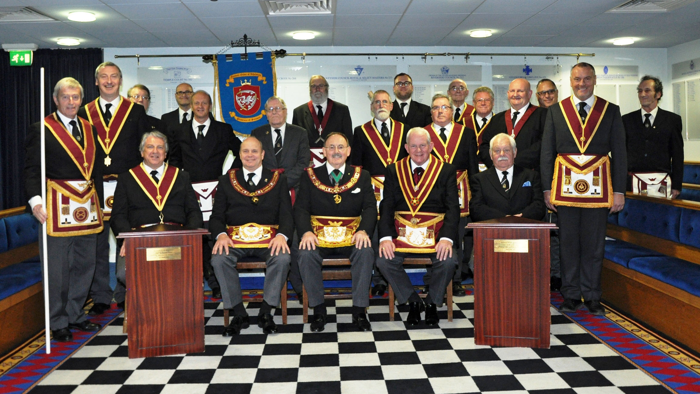 Executive Visit by the Provincial Grand Master to the Court of Harrow Way