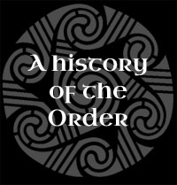 A History of the Order