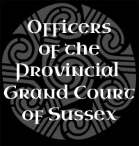 Officers of the Provincial Grand Court of Sussex